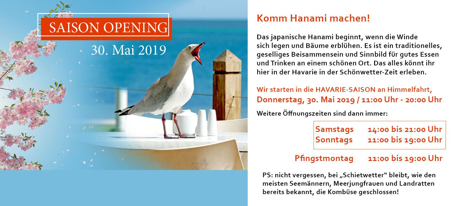 HAVARIE Gastronomie Marina Bortfeld Öffnungszeiten 2019